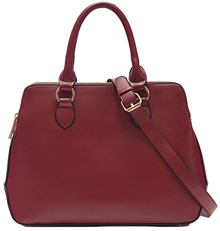 synthetic-leather-structured-handbag-with-shoulder-straps