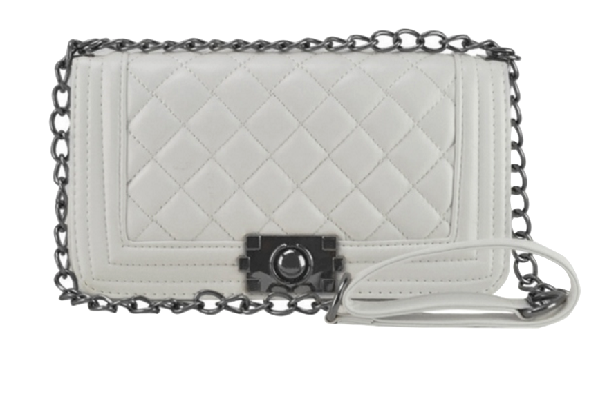 white-leather-chain-crossbody