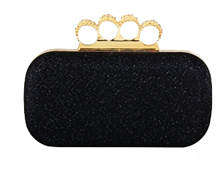 womens-stylish-clutch-with-rhinestone-ring-handle