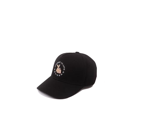 black-somebody-to-love-baseball-cap