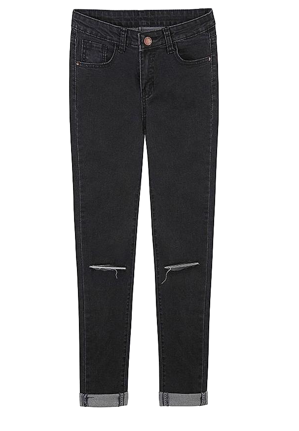 black-denim-jeans-with-distressed-detailing