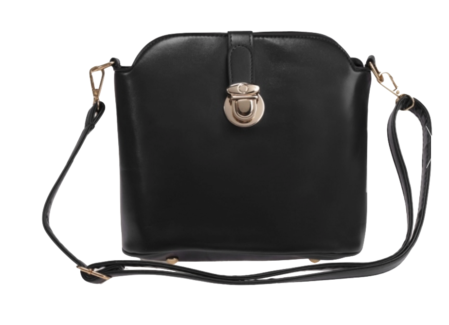 black-leather-crossbody-with-metal-buckle-closure