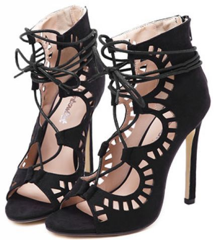 black-peep-toe-cut-out-lace-up-heels