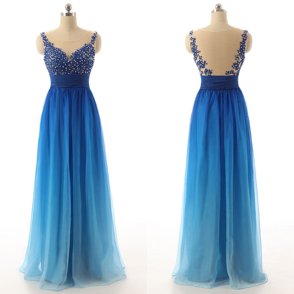 blue-gradient-long-chiffon-a-line-prom-dress-featuring-lace-appliques-and-beaded-embellished-plunge-v-illusion-bodice