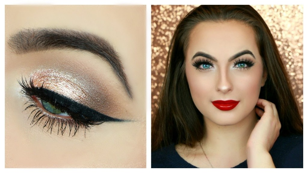 Dazzling holiday makeup tutorials for beginner