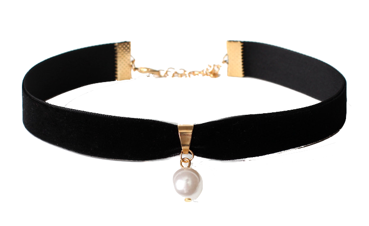 choker-necklace-with-pearl-detailing
