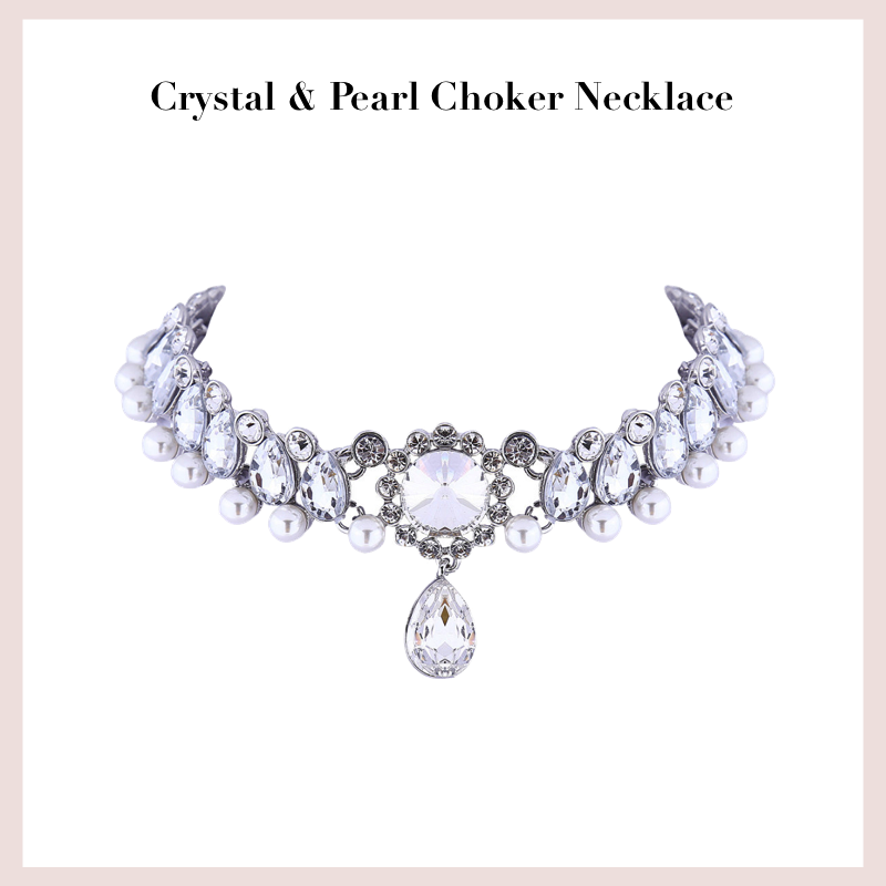 crystal-pearl-choker-necklace