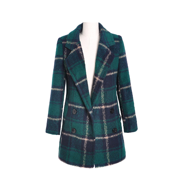 dark-green-and-navy-plaid-long-wool-coat