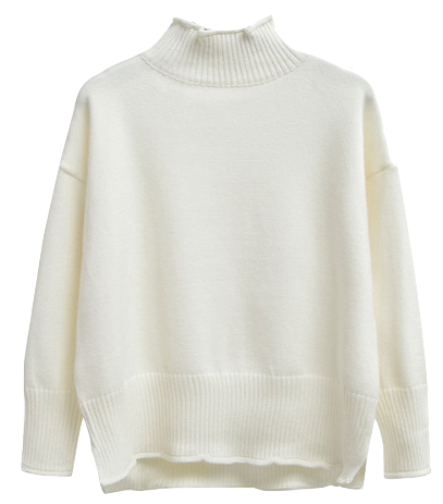 fallwinter-high-collar-cotton-sweater