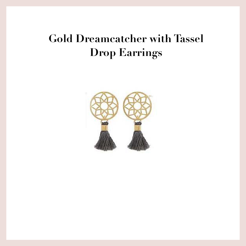 gold-dreamcatcher-with-tassel-drop-earrings