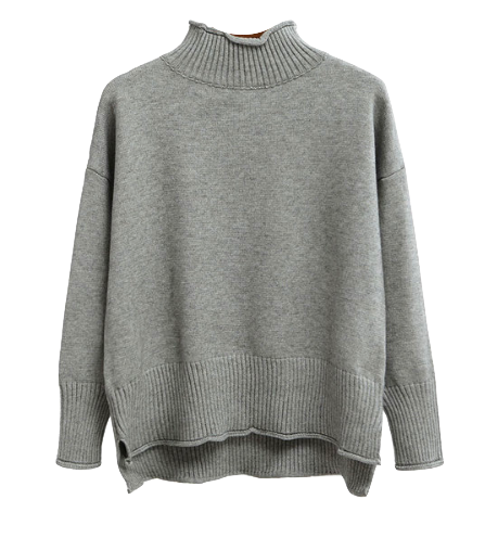 gray-turtleneck-sweater