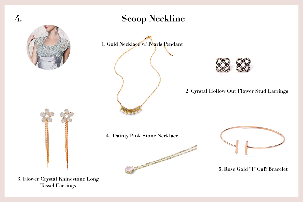 Jewellery For Every Type Of Prom Dress Neckline