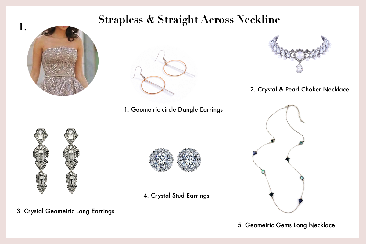 jewellery-for-every-type-of-prom-dress-neckline-straight-across-and-strapless-neckline