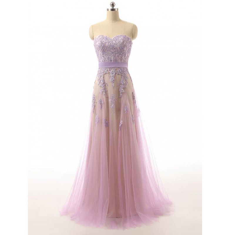 lavender-sweetheart-tulle-prom-dress-with-lace-applique-bodice