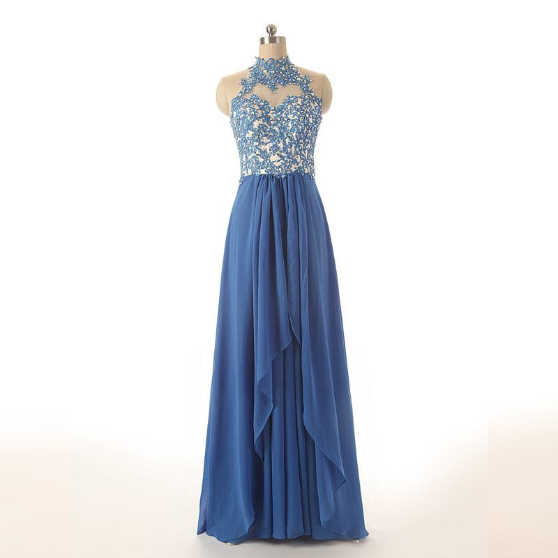 long-chiffon-a-line-pleated-prom-dress-featuring-lace-appliques-high-neck-halter-bodice