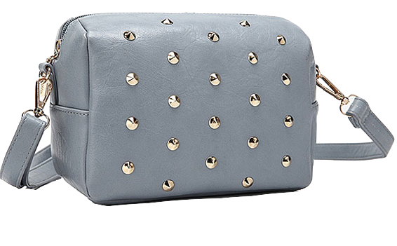 mini-gray-crossbody-shoulder-bag-with-gold-rivets
