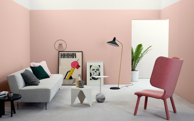 Pink Wall Paint 2017 color trends for your home interior, according to paint