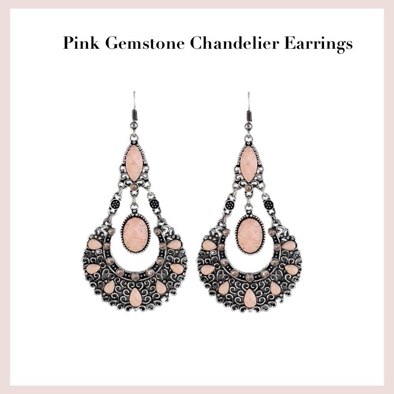 pink-gemstone-chandelier-earrings