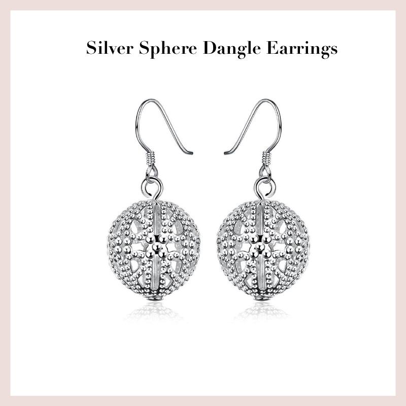 silver-sphere-dangle-earrings