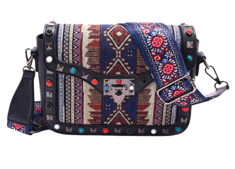 tribal-pattern-and-floral-embroidery-crossbody