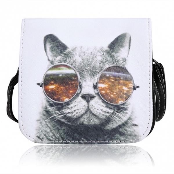 cat-printed-shoulder-bag