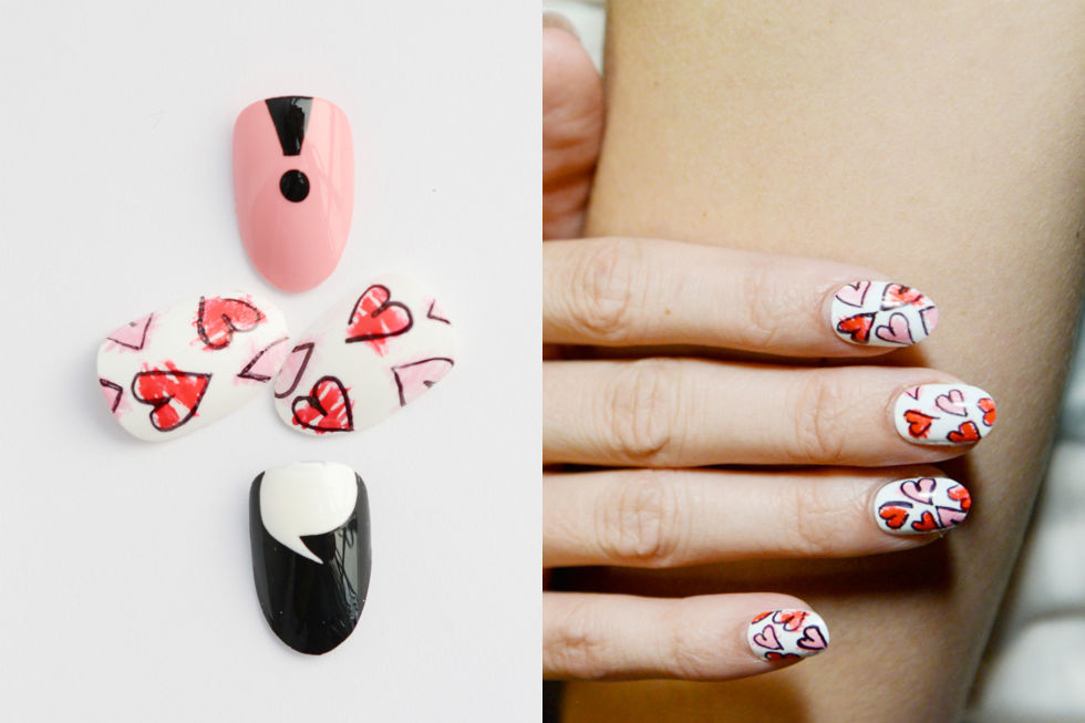 Crush-Worthy Nail Art Inspirations for Valentine's Day 2017