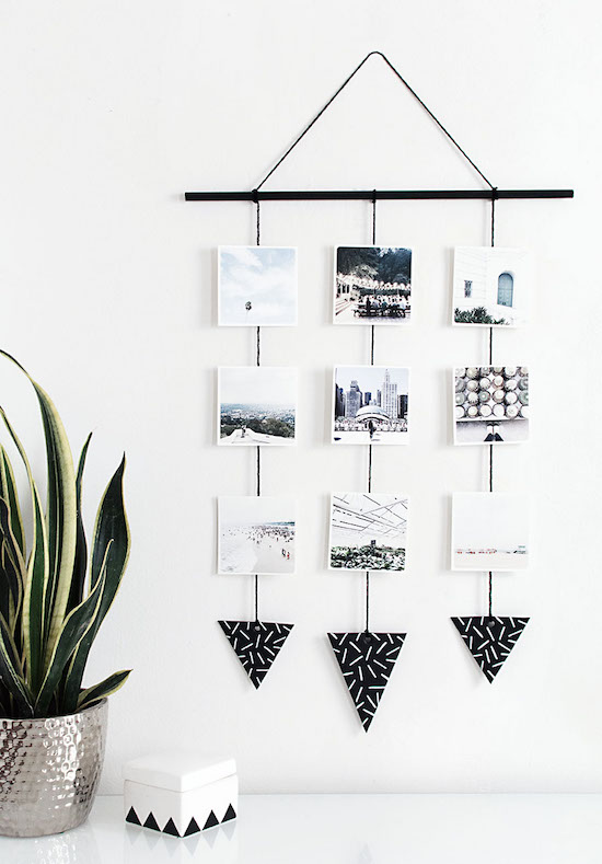 diy-photo-wall-hanging-display