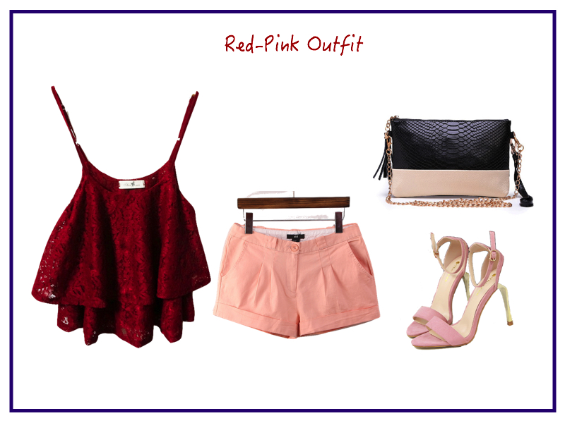 Red-pink-outfit
