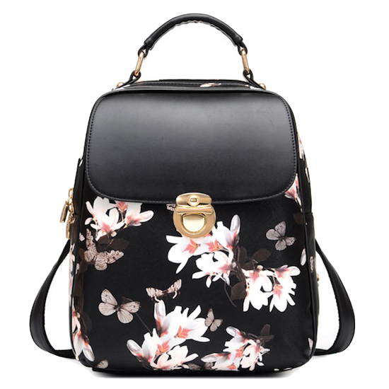 Sweet-floral-backpack