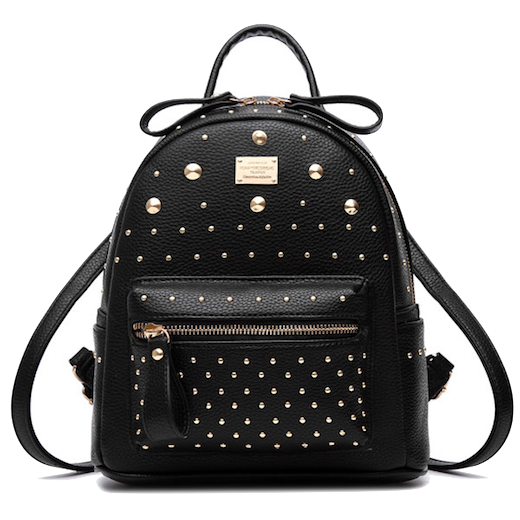 black-rivet-backpack