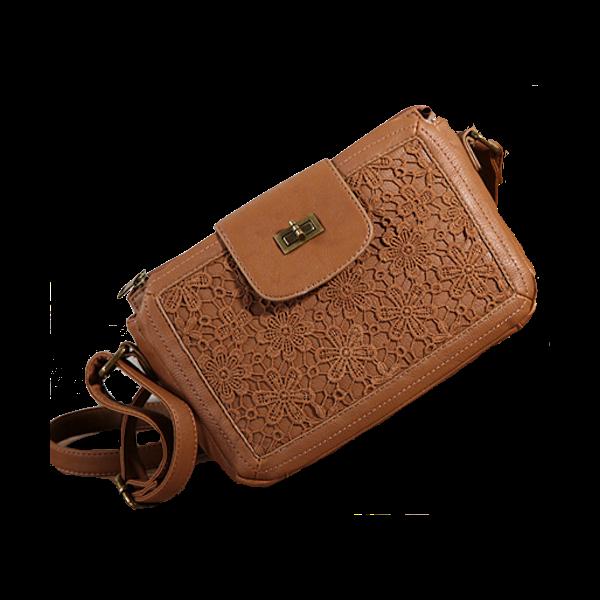 brown-lace-shoulder-bag