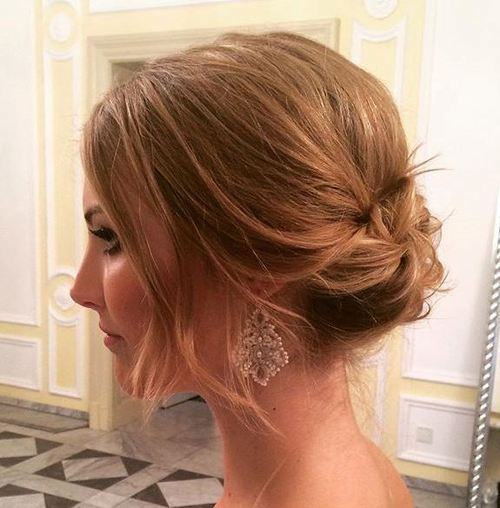 loose-low-updo-for-short-hair-wedding