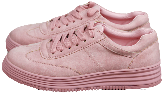 pink-lace-up-sneakers