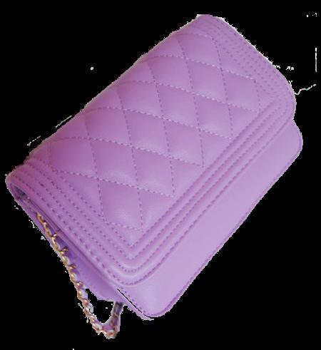 purple-chained-shoulder-bag