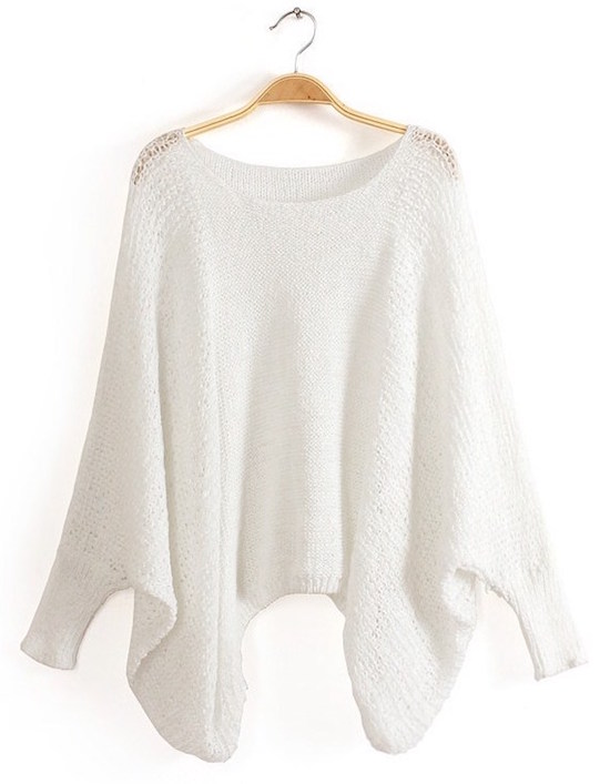sweater-white-batwing-sleeves