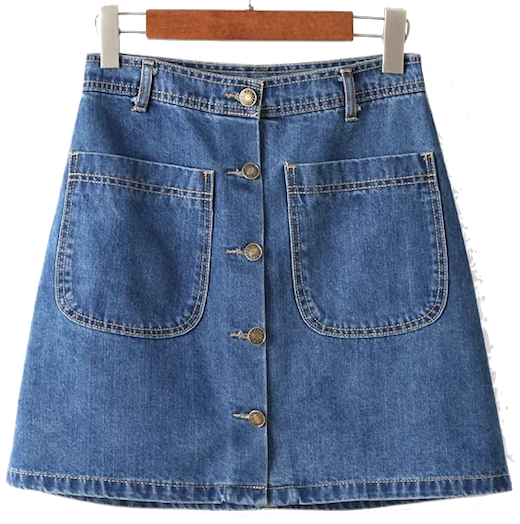a-line-button-front-denim-skirt
