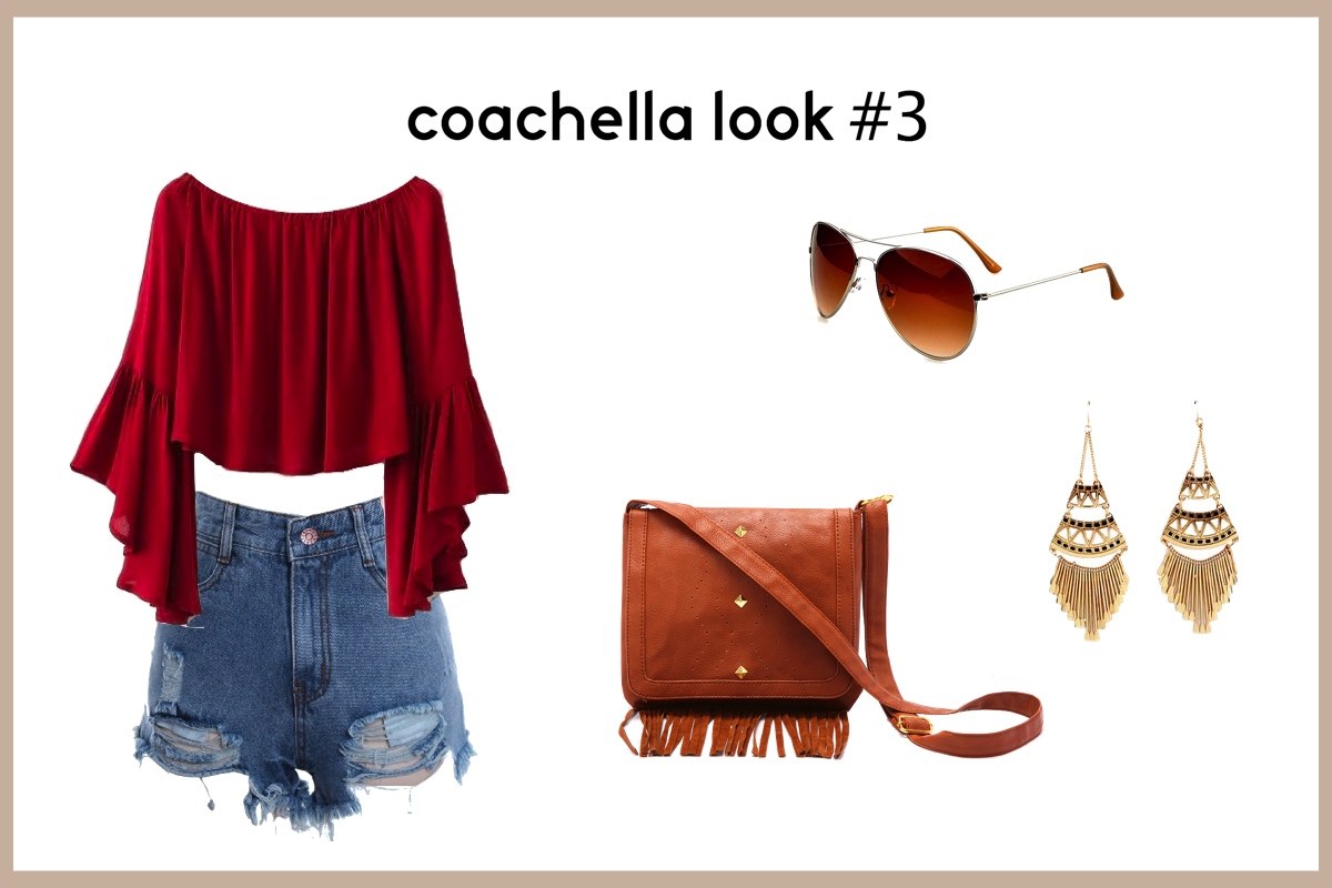 Coachella Look 3