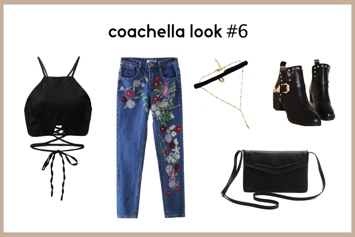Coachella Look 6