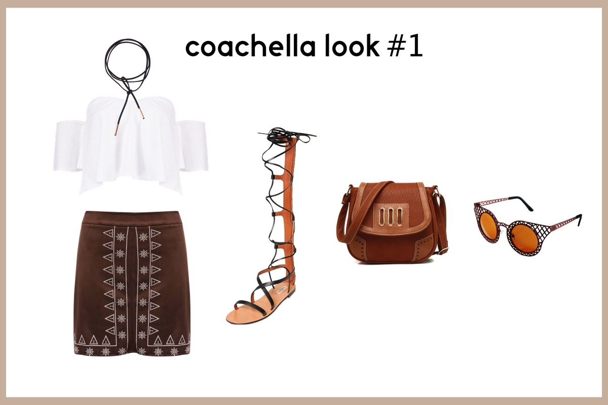 Coachella Look 1
