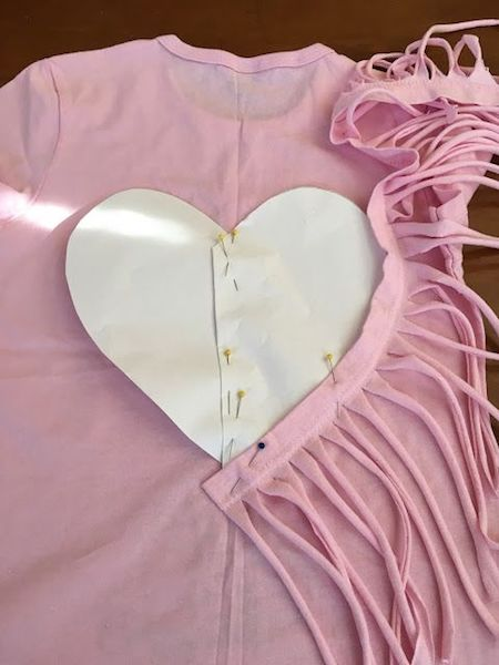 fringe-hearts=t-shirt-diy-steps-2