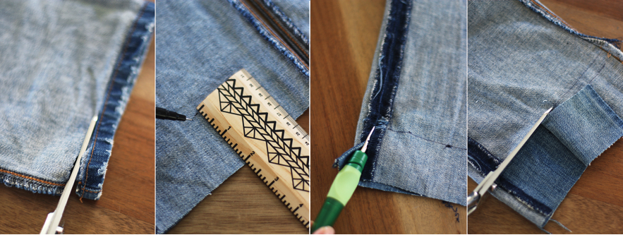 diy-uneven-hem-jeans-steps