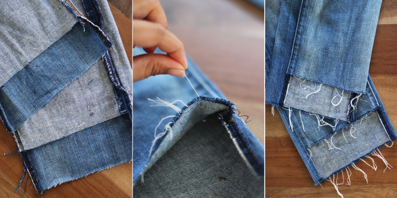 diy-uneven-jeans-hem-steps