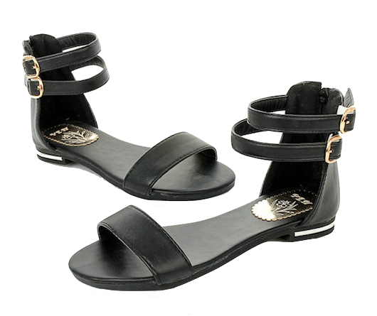 double-ankle-strap-flats