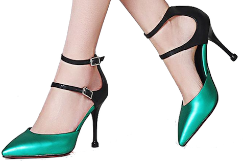 Double-ankle-strap-pointed-toe-heels