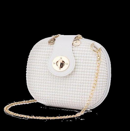 Leather-chain-shouder-bag