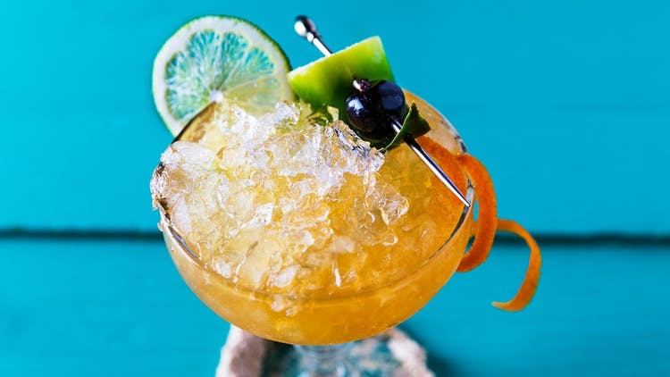 Pineapple-Rum-Daiquiri