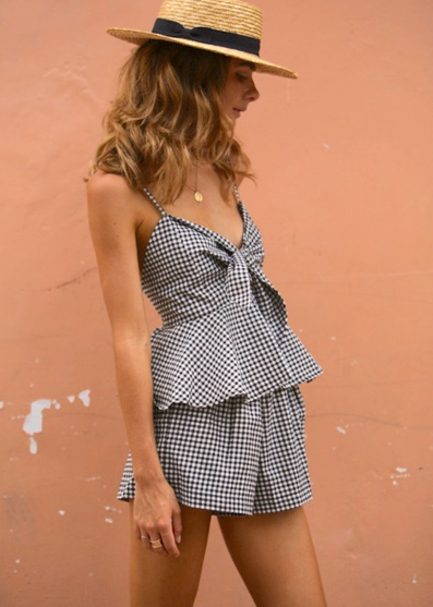 gingham-two-piece