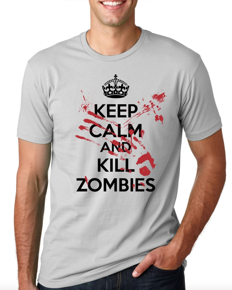 keep-calm-and-kill-zombies-tee