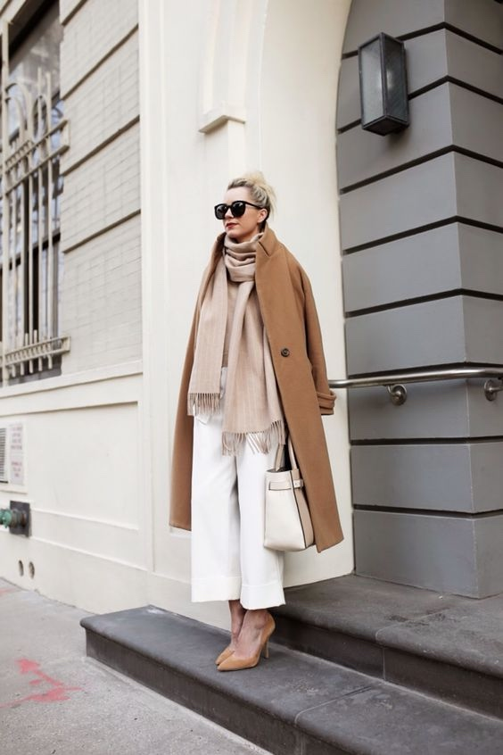 How to Style Culottes This Fall: Winter