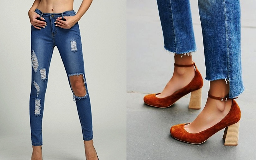 78bd88fea48 Distressed Jeans nor Frayed Hem Jeans aren't a new trend anymore. (not even  close)